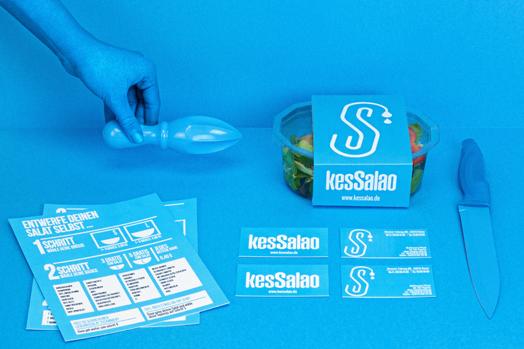 KesSalao, a new eatery in Bonn, Germany by Design Studio Masquespacio