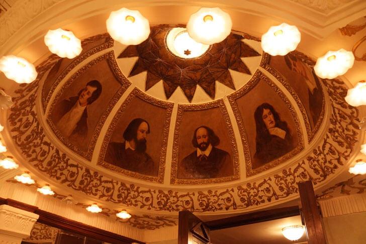 """Painted Dome Royal Opera House Mumbai Abha Lambah Associates indiaartndesign"""
