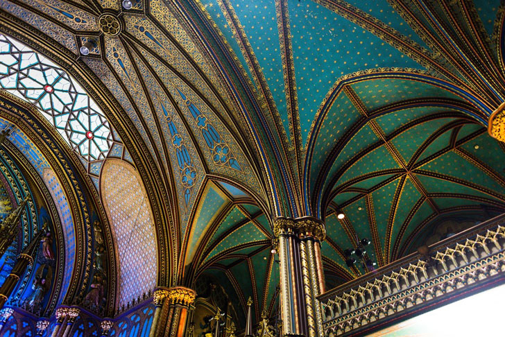 """""""notre dame basilica ceiling moment factory indiaartndesign"""""""
