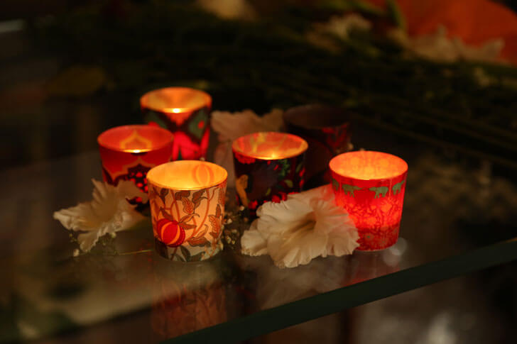 """scented candles india circus festive decor indiaartndesign"""