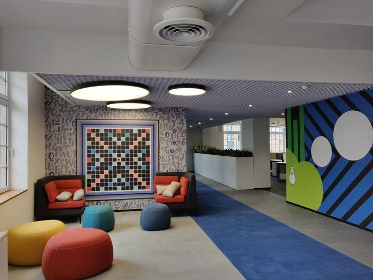 """breakout area Bombay House Somaya Kalappa Architects Indiaartndesign"""