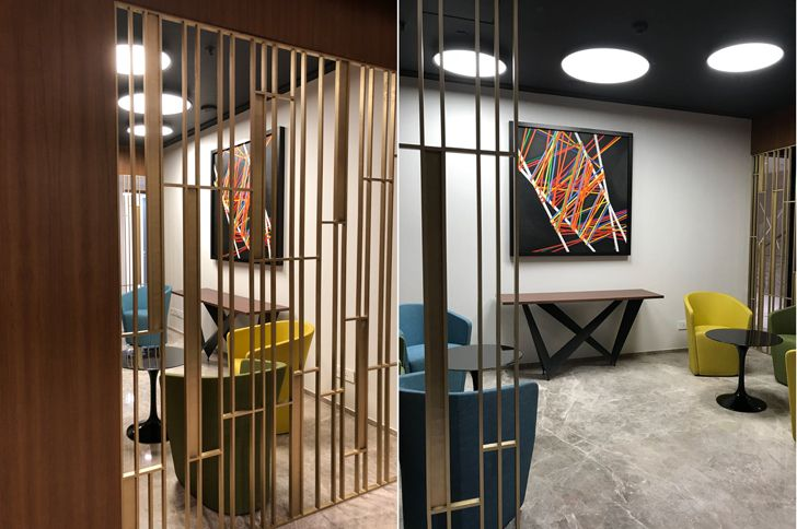 """informal meeting spaces Bombay House Somaya Kalappa Architects Indiaartndesign"""