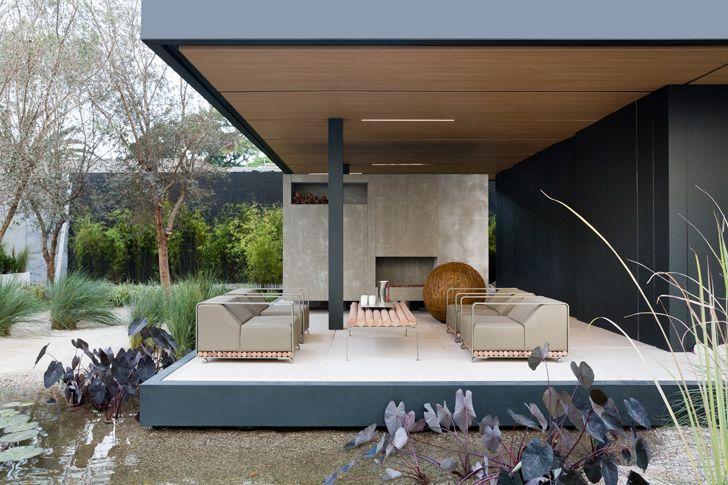 """covered deck SysHaus Arthur Casas Design prefabricated homes indiaartndesign"""