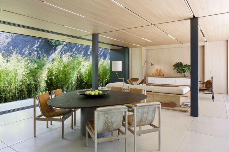 """dining SysHaus Arthur Casas Design prefabricated homes indiaartndesign"""