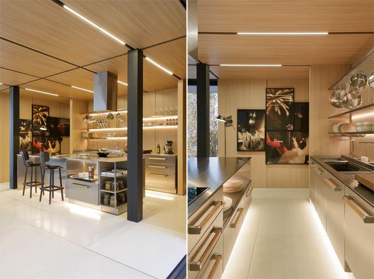 """kitchen SysHaus Arthur Casas Design prefabricated homes indiaartndesign"""