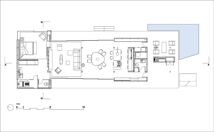 """""""plan SysHaus Arthur Casas Design prefabricated homes indiaartndesign"""""""