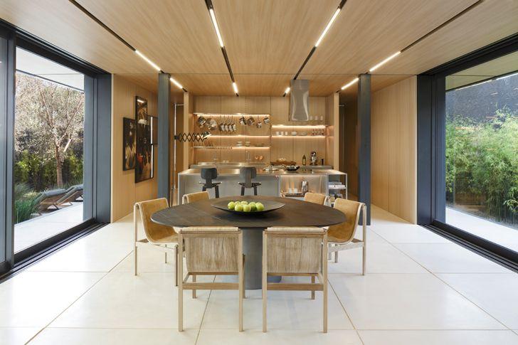 """seamless inside outside SysHaus Arthur Casas Design prefabricated homes indiaartndesign"""