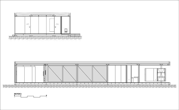 """section SysHaus Arthur Casas Design prefabricated homes indiaartndesign"""