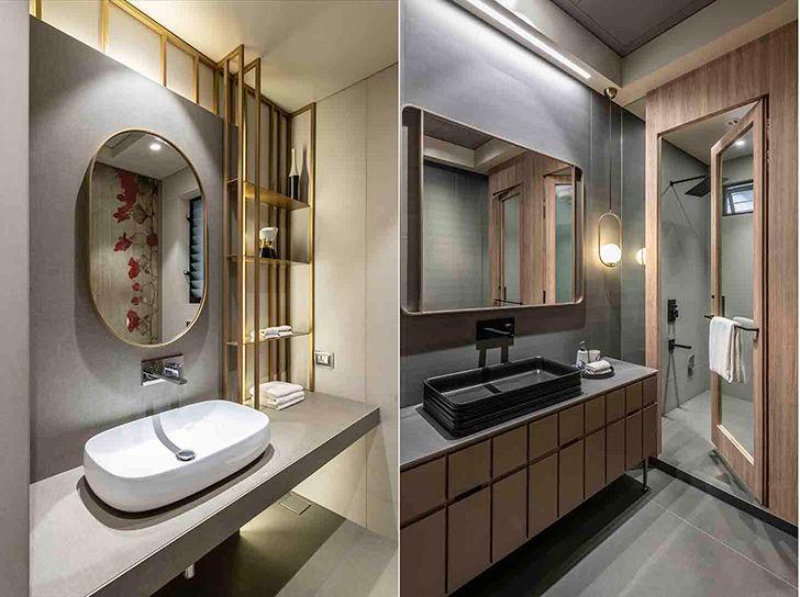 bathrooms Chennai residence HSDesiigns indiaartndesign