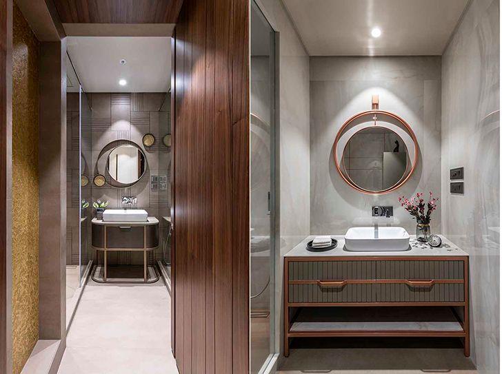 vanity counters Chennai residence HSDesiigns indiaartndesign