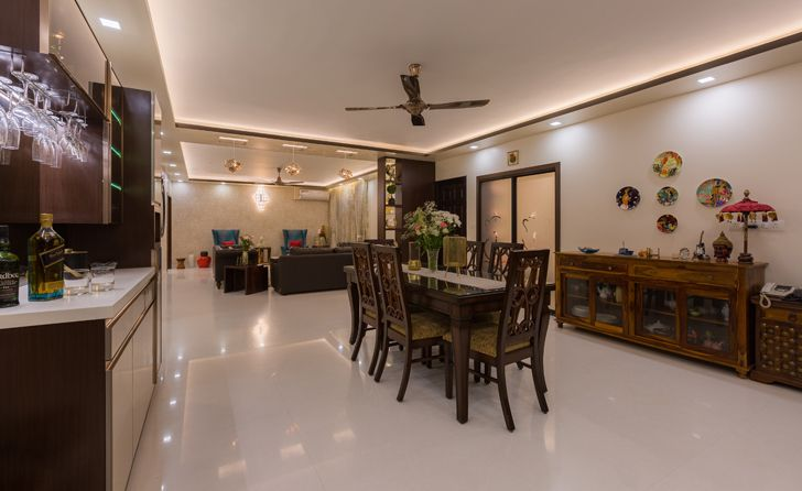 dining Sobha Palladium home The KariGhars indiaartndesign