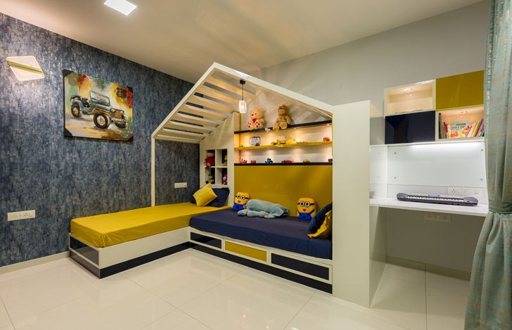 kids bedroom Sobha Palladium home The KariGhars indiaartndesign
