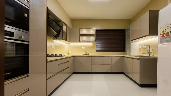 luxurious kitchen Sobha Palladium home The KariGhars indiaartndesign