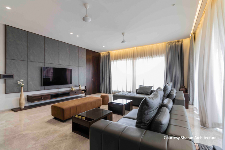 """living room surat residence sharanarchitecturedesign indiaartndesign"""